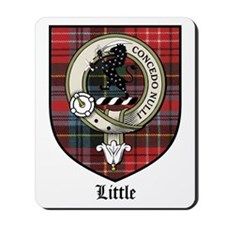 Little Clan Crest Tartan Mousepad