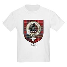 Little Clan Crest Tartan Kids T-Shirt