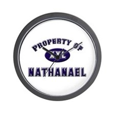 Property of nathanael Wall Clock