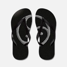 s and m marble Flip Flops