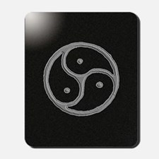 s and m marble Mousepad