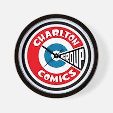 finished_charlton_logo Wall Clock