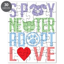 Spay-Neuter-Adopt-Love-2010 Puzzle