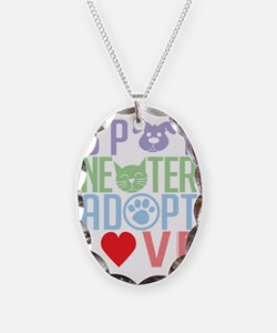 Spay-Neuter-Adopt-Love-2010 Necklace