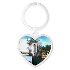 isleroyale1a Heart Keychain