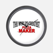 """The World's Greatest Pizza Maker"" Wall Clock"