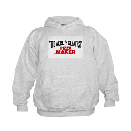 """""""The World's Greatest Pizza Maker"""" Kids Hoodie"""