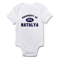 Property of natalya Infant Bodysuit