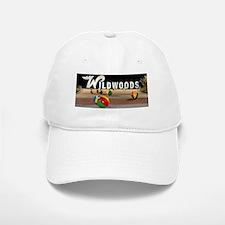 Wildwoods Sign Wildwood New Jersey Baseball Baseball Cap