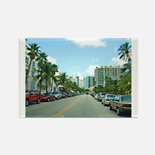 Ocean Drive, South Beach Rectangle Magnet