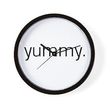 Yummy Wall Clock