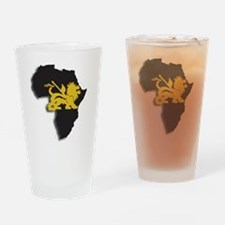 lion of judah africa Drinking Glass