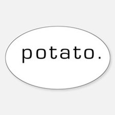 Potato Oval Decal