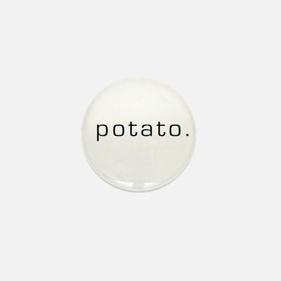 Potato Mini Button