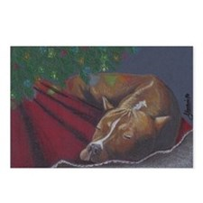 Silent Night - Raven Postcards (Package of 8)