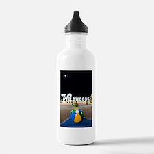 Wildwoods Sign Wildwoo Water Bottle