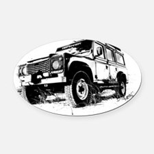 Land Rover Oval Car Magnet