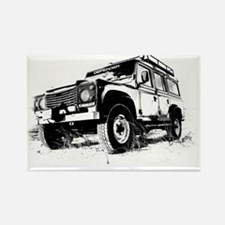 Land Rover Rectangle Magnet