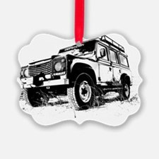 Land Rover Ornament