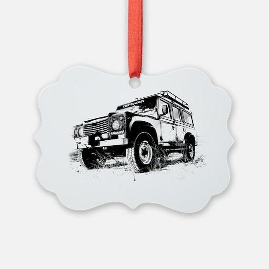 Land Rover Ornament