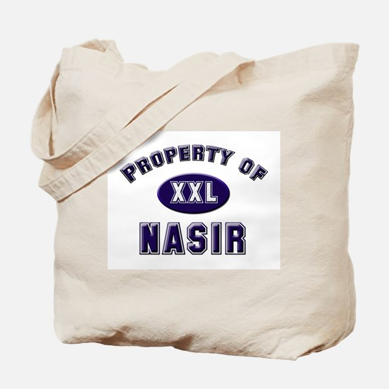 Property of nasir Tote Bag