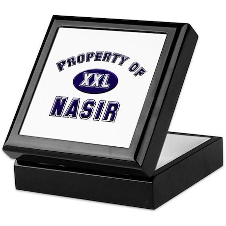 Property of nasir Keepsake Box