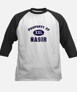 Property of nasir Kids Baseball Jersey