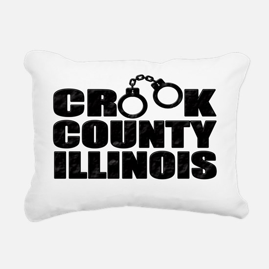 Crook County IL Rectangular Canvas Pillow