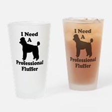 Professional Fluffer.eps Drinking Glass
