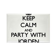 Keep Calm and Party with Jorden Magnets