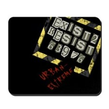 Exist to Resist Mousepad