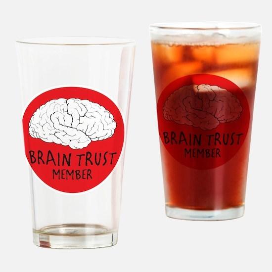 braintrustDrk Drinking Glass