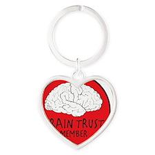 braintrust Heart Keychain