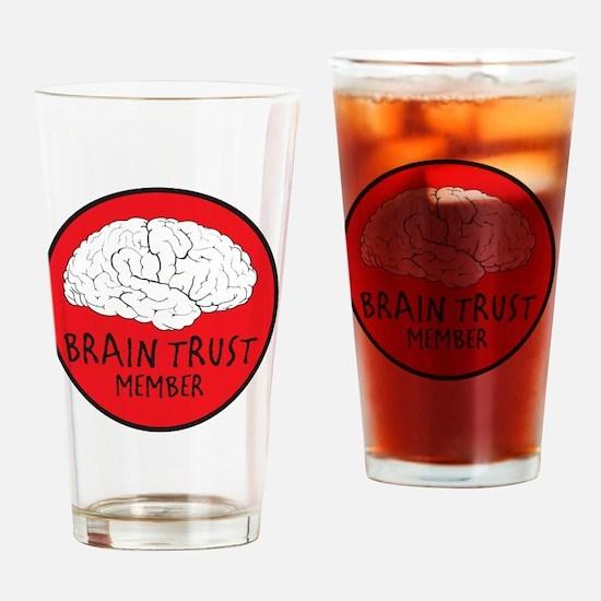 braintrust Drinking Glass