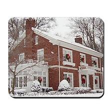 winter house Mousepad