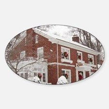winter house Decal