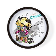cmon_shirt Wall Clock