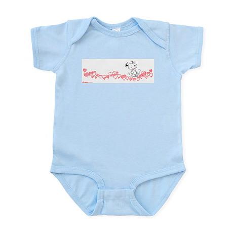 Happy Hearts Infant Bodysuit