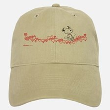 Happy Hearts Baseball Baseball Cap