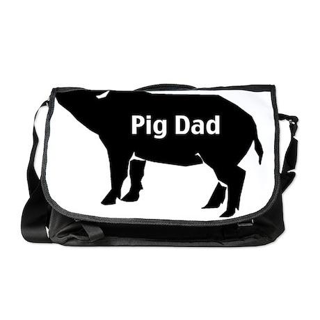 pig dad-001 Messenger Bag