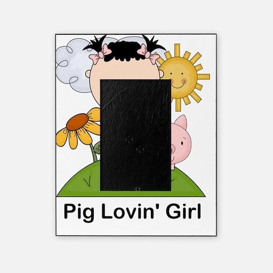 pig lovin girl-001 Picture Frame