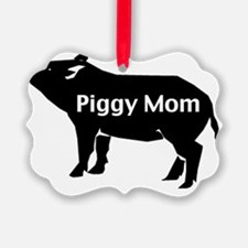 piggy mom-001 Ornament