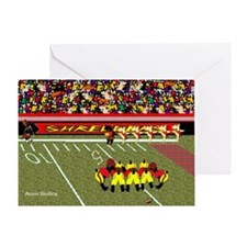 huddle copy Greeting Card