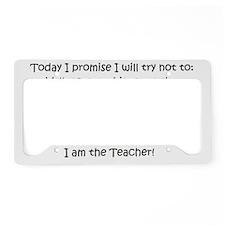 teachercreed License Plate Holder