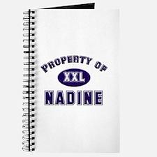 Property of nadine Journal