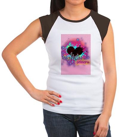 twilight princess pink Women's Cap Sleeve T-Shirt