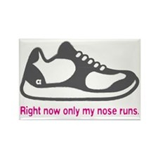 Running_RunnyNose_Pink Rectangle Magnet