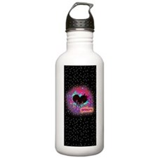 twilight princess blac Water Bottle