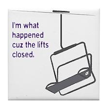 Snowsports_Lifts_Closed_Purple Tile Coaster