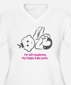 Yoga_HappyBaby_Pi T-Shirt
